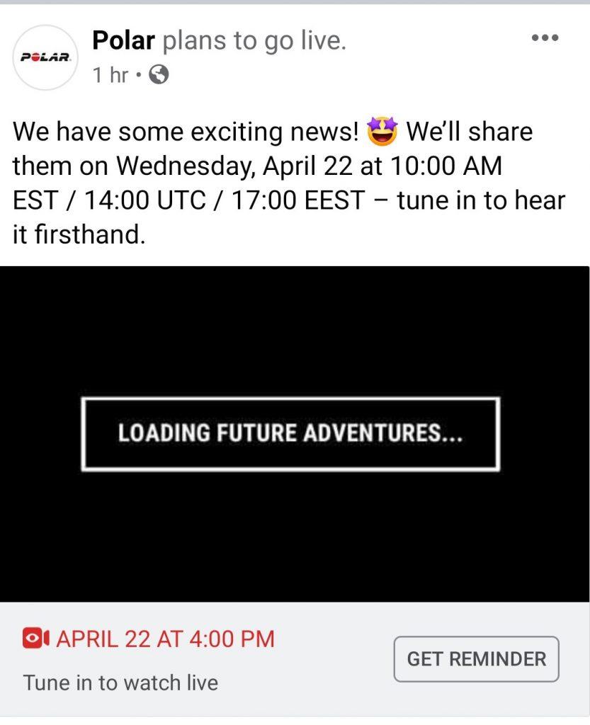 Polar Facebook event