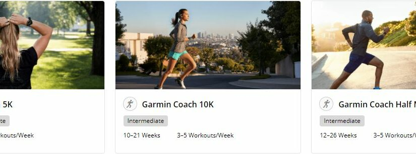 Garmin Coach: Free personal trainer for you